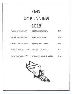 XC RUNNING SCHEDULE PICTURE