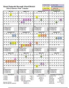 1819 Calendar Picture